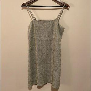 Forever 21 Grey Plaid Dress